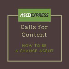 Teacher as a change agent essay