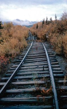 Tracks to the past.  #abandoned