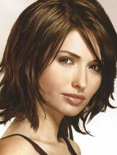 Short Hairstyles For Thick Hair And Thin Face