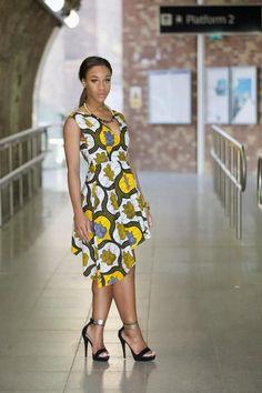 NEW - Ankara Rebekah dress by GITAS Portal