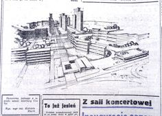 Tak miało wyglądać osiedle Łęgi w 1974 r.