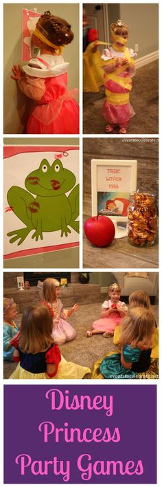 Princess Birthday Party Ideas: Games & Activities - Disney Princess Birthday Party Ideas: Games & Activities - events to CELEBRATE!Disney Princess Birthday Party Ideas: Games & Activities - events to CELEBRATE! Princess Birthday Party Games, Disney Princess Party, Tea Party Birthday, Disney Birthday, 4th Birthday Parties, Girl Birthday, Birthday Games, Birthday Ideas, Birthday Celebration