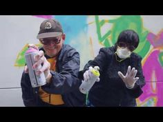 Seniors with Spray Paint: Graffiti Artists Aged 65 to 96 Create Mural at Institute on Aging - YouTube