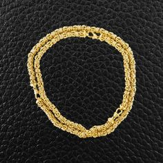 Gold Estate Necklace & Bracelet Set