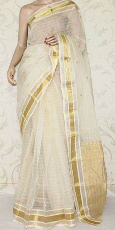 Bengal Handloom Tant Saree (W/B-Cotton) 13085