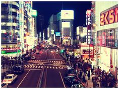 Tokyo; home to the best karaoke bars & most fashion forward people.