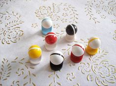 Italia Set di 7 manopole in alta quality.knobs di plastica