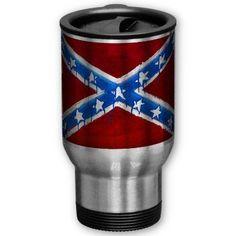 Rebel Flag Mug