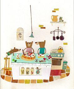 Collage by natsuko kawatsu