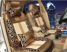 Super Cool Luxury Leopard Leather ice silk Universal car Seat Cover,5 seats Universal Car Seat Covers,Four seasons Universal-in Seat Covers from Automobiles & Motorcycles on Aliexpress.com | Alibaba Group