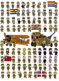MINIATURAS MILITARES POR ALFONS CÀNOVAS: colaboraciones ZHANG XING
