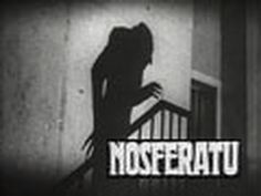 ▶ Nosferatu (1922) - Full Movie Originally released in 1922 as Nosferatu, Eine Symphonie Des Grauens, director F.W. Murnau's chilling and eerie adaption of Stoker's Dracula is a silent masterpiece of terror which to this day is the most striking and frightening portrayal of the legend.  Nosferatu is in the public domain, and can be downloaded here for free: http://www.archive.org/details/nosferatu