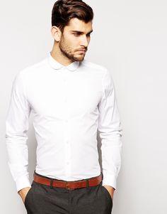 Smart Shirt In Long Sleeve With Curve Collar www.StyleLounge.de