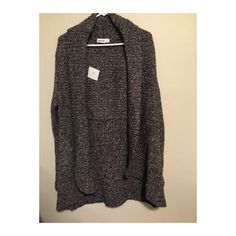 Kenzie Pretty Marbled Cardigan Kenzie Pretty Marbled Cardigan. Grey, white, and black. XL kenzie Sweaters Cardigans