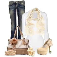 Add some flowers to your outfit
