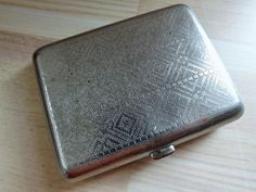 Vintage Soviet Cigarette Case NEW Cigarette Holder by RetroSaffer