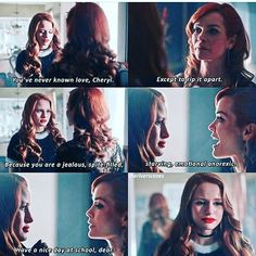 #Riverdale #2x14 #Cheryl #Penelope / Penelope Blossom is a piece of shit and I hope she gets what she deserves this season.