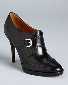Ralph Lauren Collection Booties - Nanine High Heel | Bloomingdale's