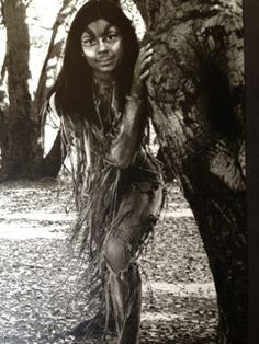 "Dena Martinez (Lydia, American Night), age 13, as Moth in A Midsummer Night's Dream at Berkeley Shakespeare Festival, 1979. ""Liza Chugg made my costume. My father took this photo. This is the only professional show he saw me in as he passed away when I was 18. We swung from trees, lived in the hills and paths and really believed we were fairies. I had my first kiss on the swings at the park. I remember stage manager Meryl Shaw telling us teens 'to stop having so much fun, this is serious…"