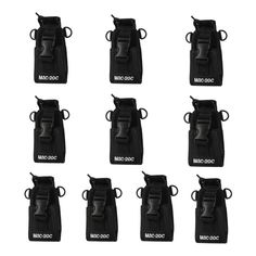 Trdio Nylon Radio Case Holder for Kenwood/Yaesu/Icom MotorolaGP338 /344/328/ Baofeng BF-666S/777S/888S 10 Pack,Black >>> Click on the image for additional details. (This is an affiliate link) Camping Gadgets