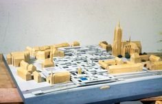 2 Web project for reconstruction of Frankfurt Römerberg (Germany), 1963