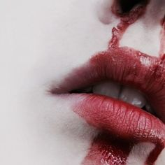 Eliana. Bleeding is a sign of magics taxing on the body.