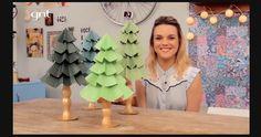 Casa de Colorir: Como fazer uma árvore de Natal de papel: ainda dá tempo!