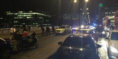 Déploiement policier sur le pont de Londres