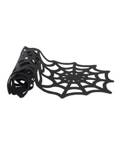 Take a look at this Spiderweb Felt Runner by tag on #zulily today!
