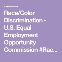 13 Employee Rights Ideas Workplace Discrimination Equal Employment Opportunity Commission