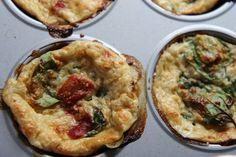 Meal Prep Breakfast Idea: Veggie Frittata Muffins