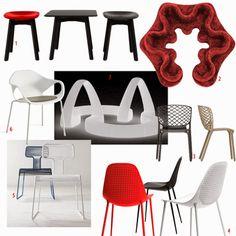 shoppingvisadron: sit José, sit - new 2014 chairs at Salone Milan