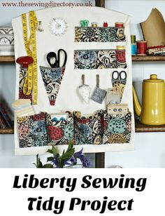 Sewing storage for your sewing supplies (or customize for other crafts)