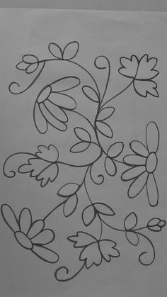 Random Tutorial and Ideas Mexican Embroidery, Crewel Embroidery Kits, Hand Embroidery Patterns, Floral Embroidery, Embroidery Thread, Wool Applique, Fabric Painting, Flower Patterns, Needlework