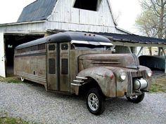 Old Gasser Bus