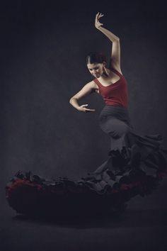 Flamenco Dancer by N