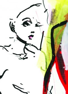 Illustration: Petra Lunenburg @ Angelique Hoorn Management Technique: Tape, marker, acrylic paint