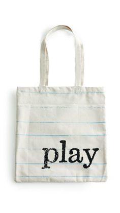 Tote Bag Play