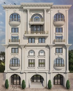 House Layout Plans, House Layouts, House Plans, Smart Home Design, Dream Home Design, Facade Design, Architecture Design, Balcony Railing Design, Bungalow House Design