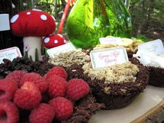 Fairy foods   Kate Landers Events, LLC: Woodland Fairy Birthday Party