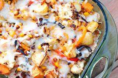 Clean Eating - Roasted Vegetable Enchiladas