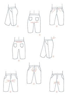Port Trousers: How to Alter the crotch (by Artesane)  pauline alice - Sewing patterns, tutorials, handmade clothing & inspiration