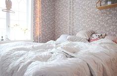 hunajaista makuuhuone sisustus