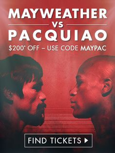 Boxing Ticket are now on sale for the Floyd Mayweather, Jr. vs. Manny Pacquiao extravaganza! Get your tickets here!  http://www.potshotboxing.com/?p=5001