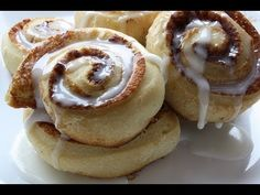 Vegan Cinnabon CInnamon Roll Recipe. This is a great vegan recipe for breakfast, brunch, snack, and dessert.    Vegan Cinnamon Roll Bun Recipe  Ingredients:  41/2 tsp Energ egg replacer  6 tbsp water  5 cups self rising flour  1 packet dry active yeast  1 cup non dairy milk  1/3 cup s...
