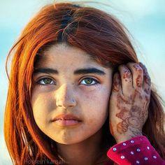 Baluchi girl - Sistan and Baluchestan province, Iran (Persian: چهره دلنشین کودک بلوچ - سیستان و بلوچستان ) Credit: AmirHossein Kamali
