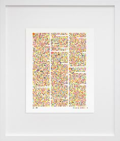 color codification dot drawing--from vanity fair magazine--by lauren dicioccio Dotted Drawings, Vanity Fair Magazine, Old Book Pages, Alphabet And Numbers, Graphic Design Inspiration, Photo Art, Art Decor, Book Art, Artsy
