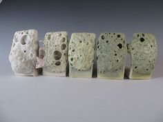 Here are some Crater Glaze Tests with stains.     The recipe is Pinnell Strontium Matte at cone 6 E1 firing     60 Nepheline Syenite   20 ...