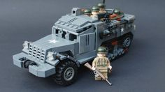 14 year old kid designs awesome lego tanks.
