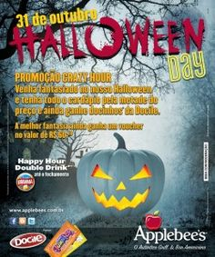 1x1.trans Halloween: Monstros pagam meia no Applebees